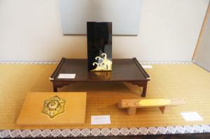 金銅波形金具(錺り師・後藤正太) 他