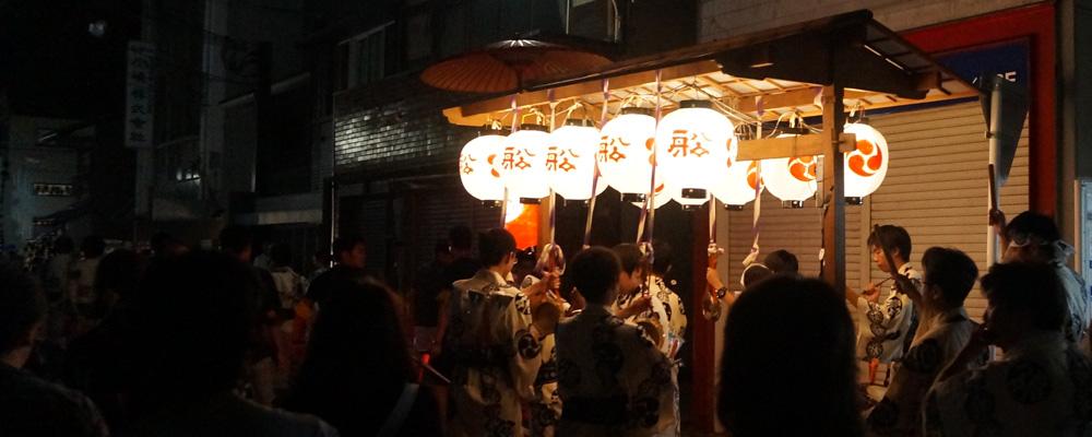 祇園祭・日和神楽