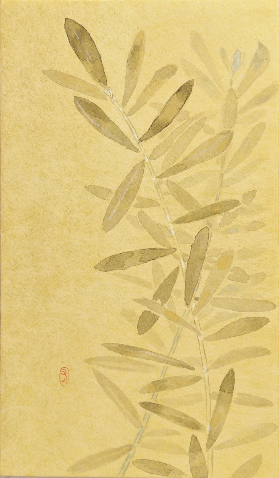 日本画家 前田 有加里 (Sound of Gold 出展作家)