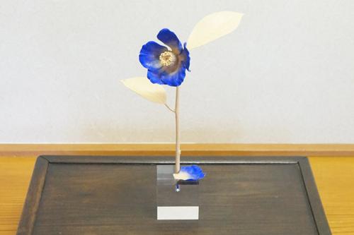 青い椿(宮本我休)